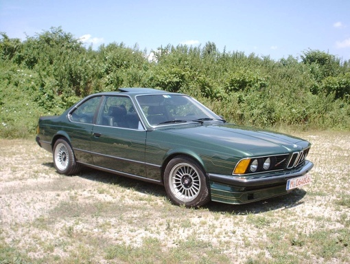 B7s Turbo Coupe E24